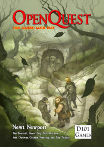 OpenQuest cover by Jon Hodgson