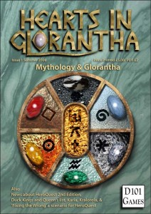 Hearts in Glorantha cover