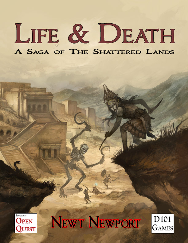 Life and Death cover by Jon Hodgson