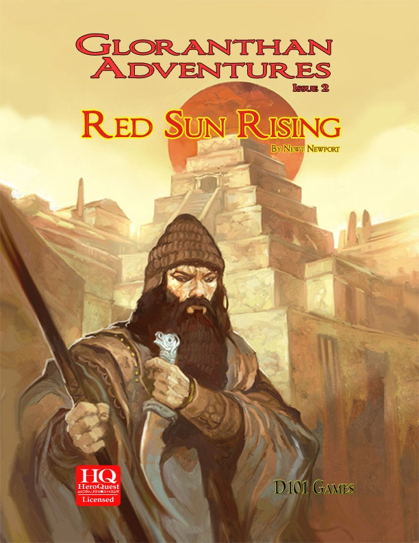 Gloranthan Adventures #2: Red Sun Rising (Print + Pdf)