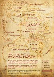 Savage North Map