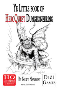 HeroQuest Dungeoneering covers