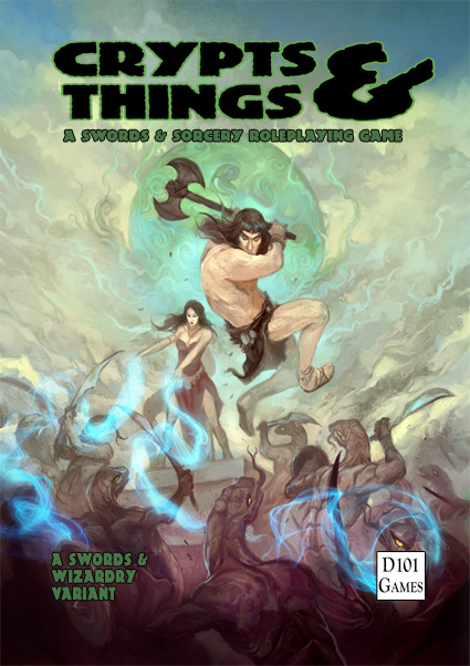 Crypts and Things 1st Edition (warning old editon - suitable for collectors only)