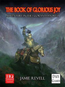 Book of Glorious Joy cover by Jon Hodgson