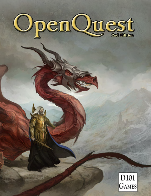OpenQuest 2 Deluxe (Softcover + Pdf)