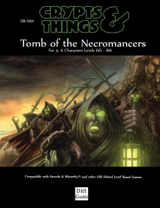 Tomb of the Necromancers cover by David Michael Wright