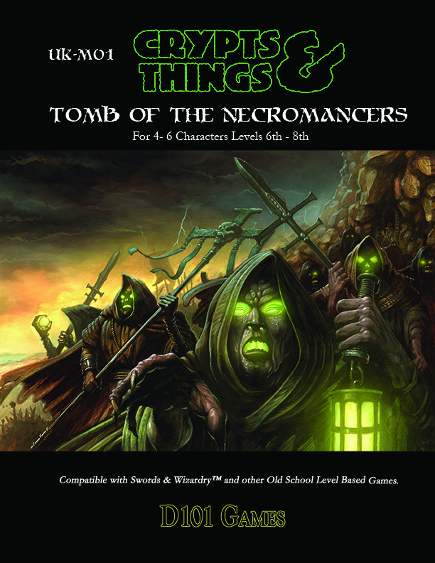 Tomb of the Necromancers (Print + Pdf)