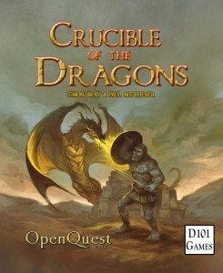 Crucible of the Dragons cover by Jon Hodgson