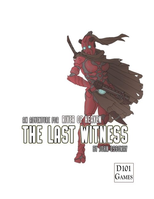 The Last Witness Cover - by Peter Frain