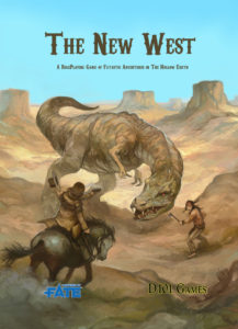 The New West cover by Jon Hodgson