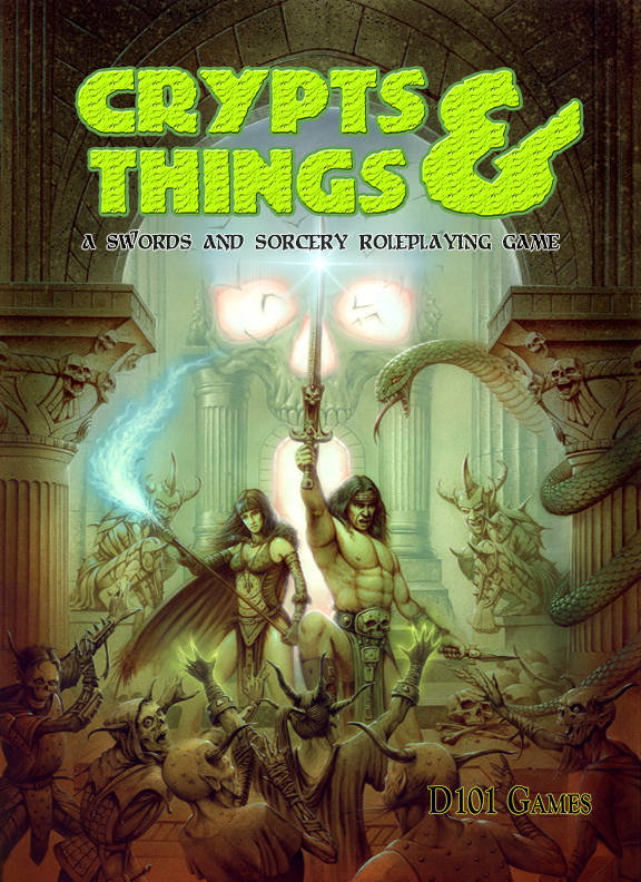 Crypts and Things Remastered (Softcover + Pdf)