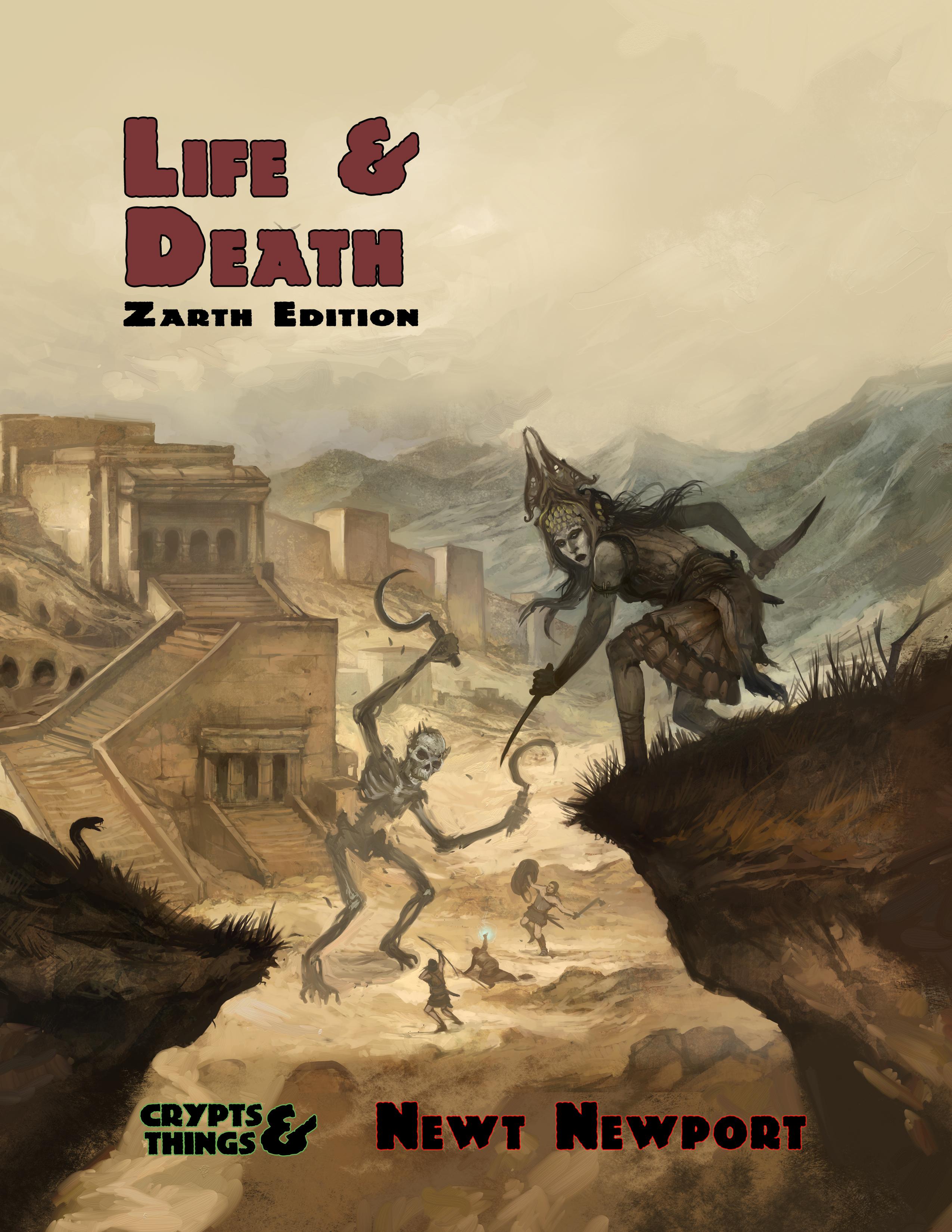Life and Death Zarth Edition (Print + Pdf)