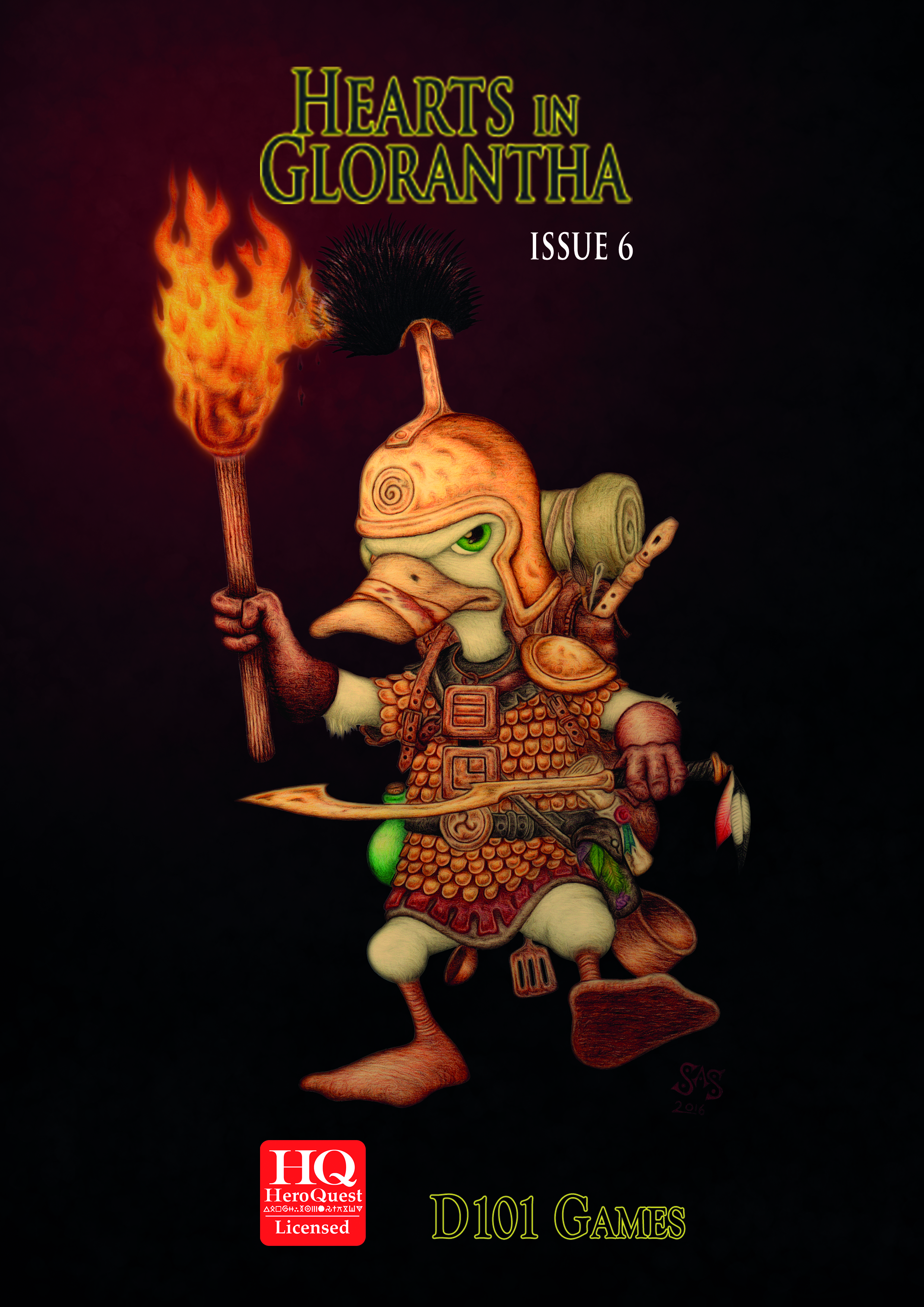 Hearts in Glorantha Issue 6 - Print+Pdf Preorder