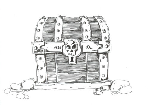 Treasure Chest by John Ossoway