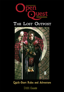 The Lost Outpost, cover by Jonny Gray
