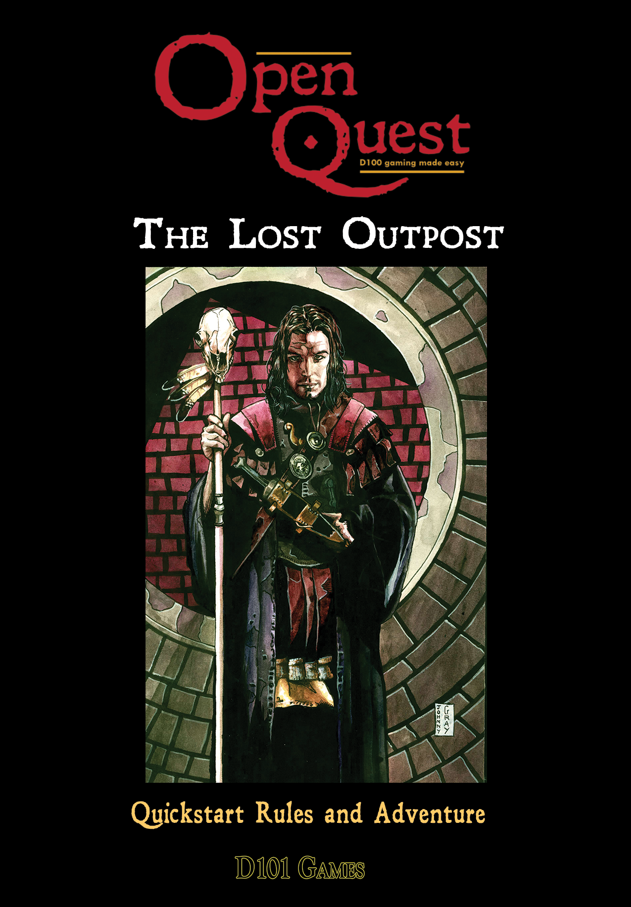 The Lost Outpost, The OpenQuest Quick-Start Rules and Adventure (Pdf)
