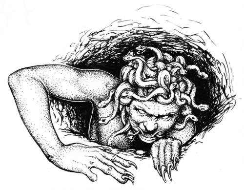 Gorgon by Dan Barker